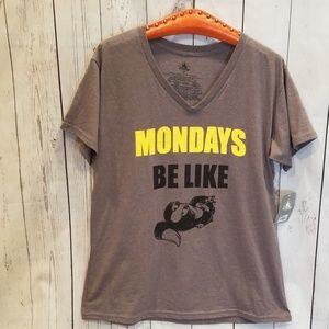 "NWT NEVER WORN Disney's Cinderella ""Mondays"" Tee!"